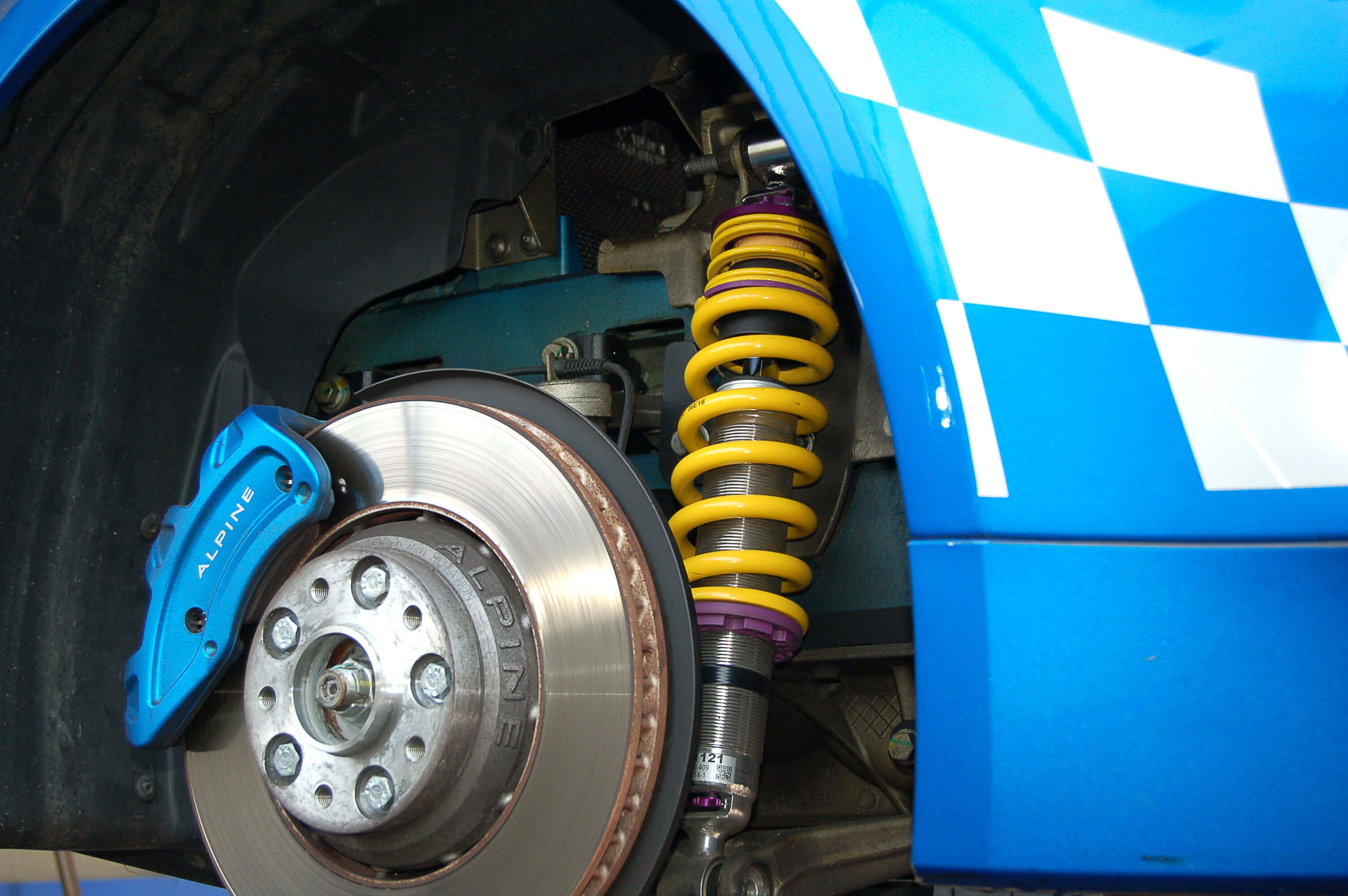 Alpine A110 KW Gewindefahrwerk