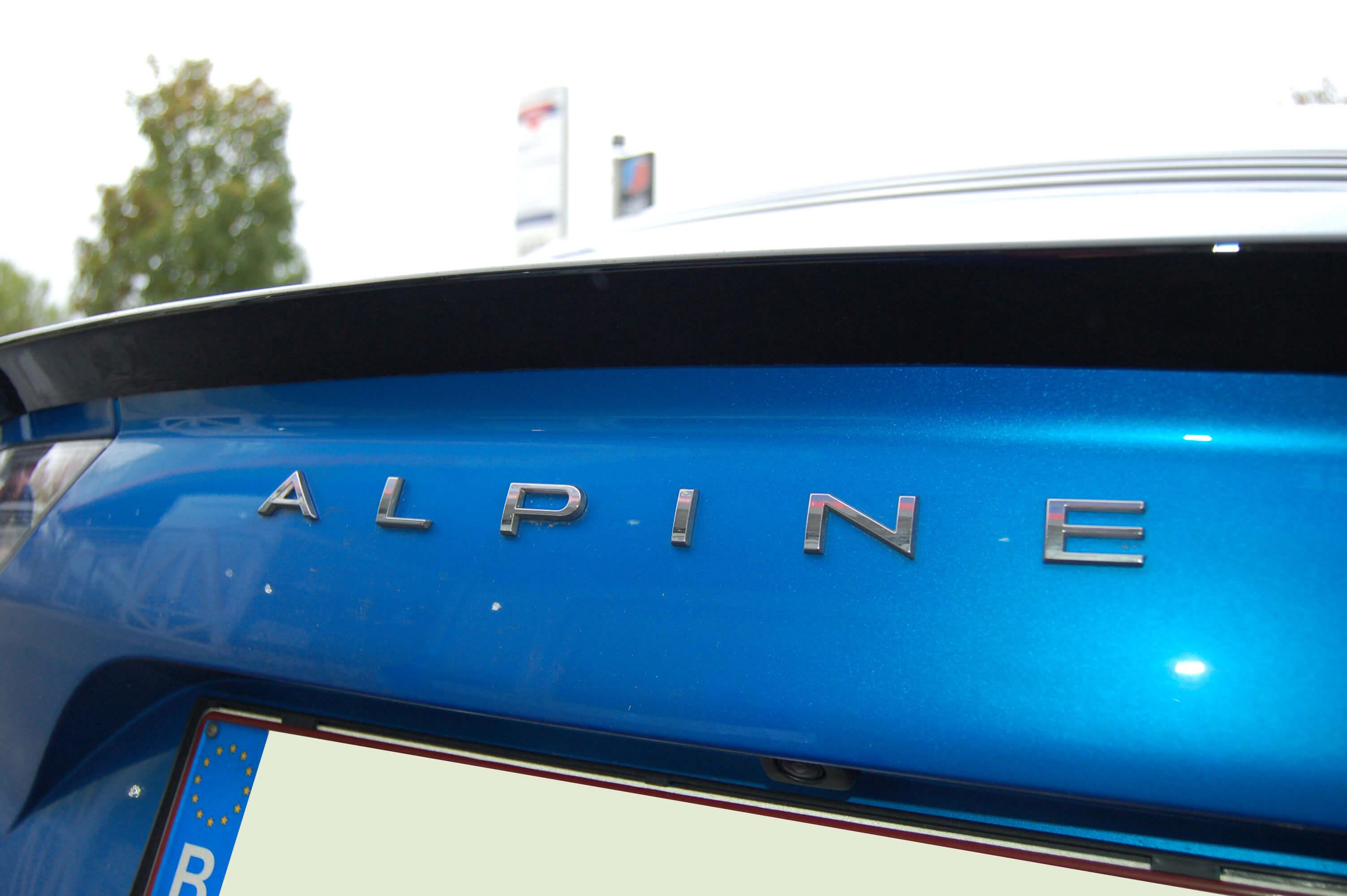 Heckspoiler Cup Style Alpine A110