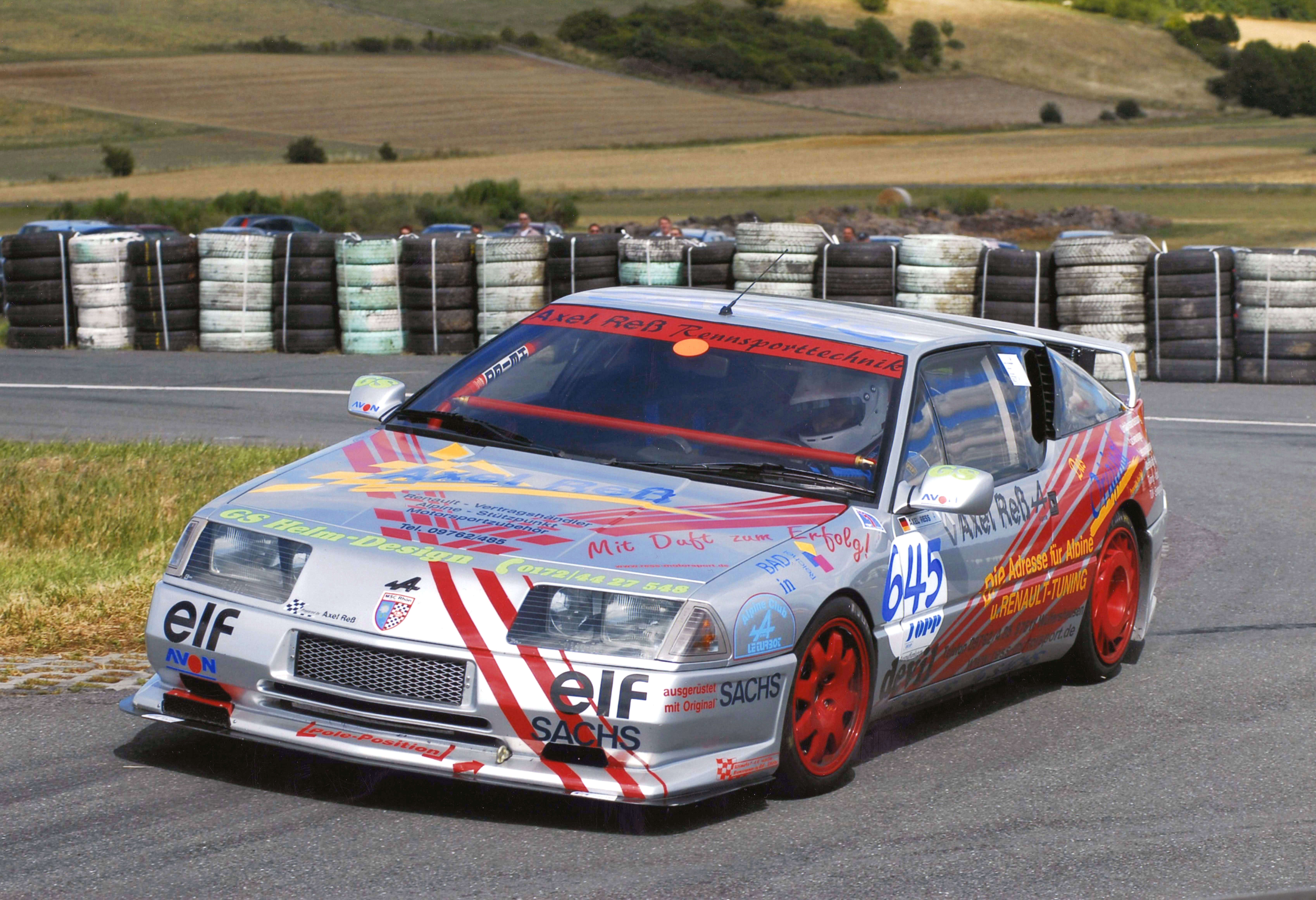 Renault Alpine V6 Turbo Axel Reß